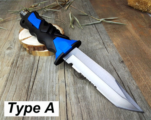 Scuba Diving Fixed Blade Knife with Prof…