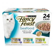 Fancy Feast Wet Cat Food, Grilled, Seafo…