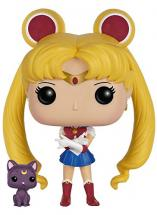 Funko POP Anime: Sailor Moon with Luna A…