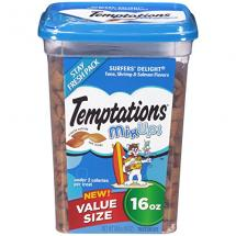TEMPTATIONS MixUps Treats for Cats SURFE…