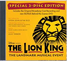 The Lion King (Original Broadway Cast Re…