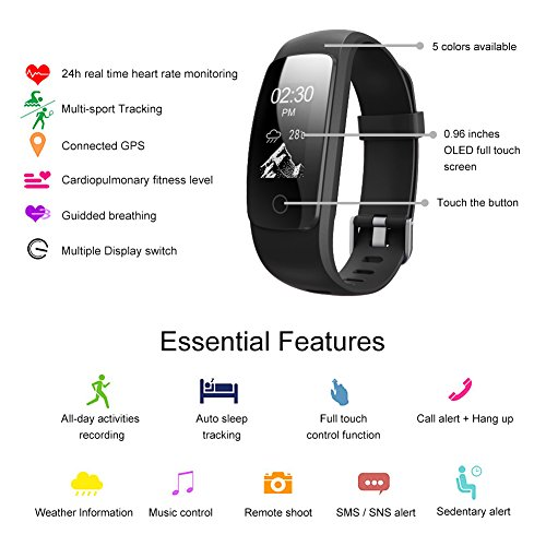 007plus Fitness Tracker, D107Plus Heart …