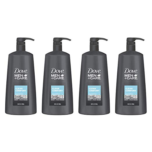 Dove Men+Care Body Wash Pump, Clean Comf
