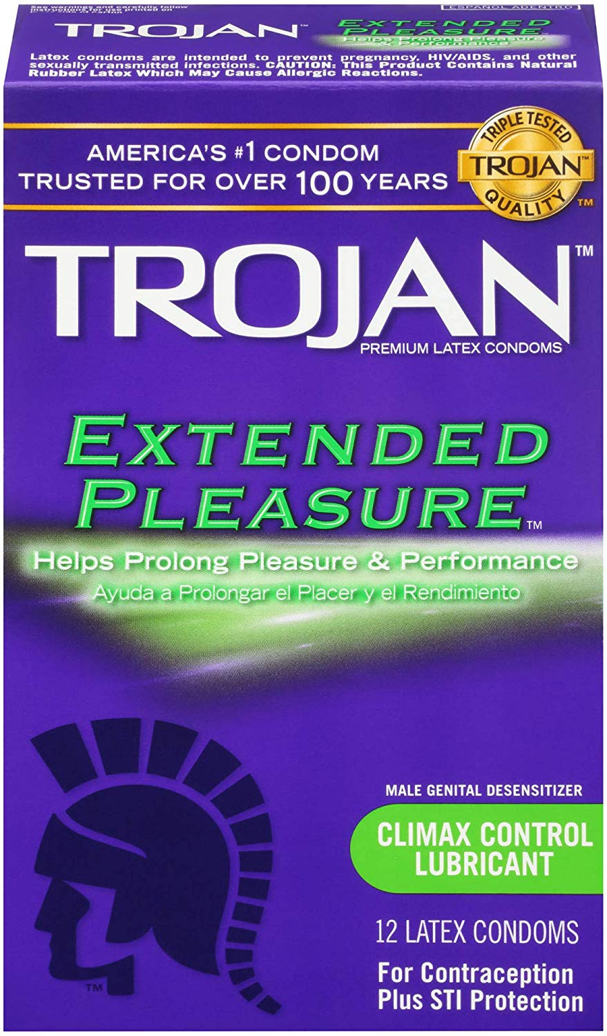 Trojan Extended Climax Control…