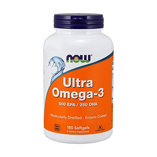 Now Foods Ultra Omega 3, Fish …