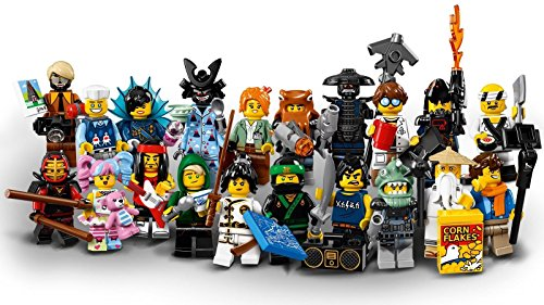LEGO Ninjago Movie Collectible Minifigures - Compl…