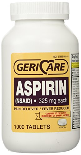 Aspirin Tablets 325mg by Geri-Care | 100