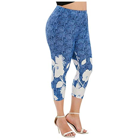 Farmerl Women Leggings Plus Si…