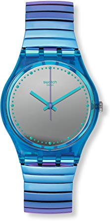 Swatch Flexicold Quartz Movement Grey Di…