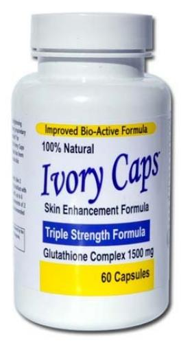 Ivory Caps Skin Whitening Pills pack of two