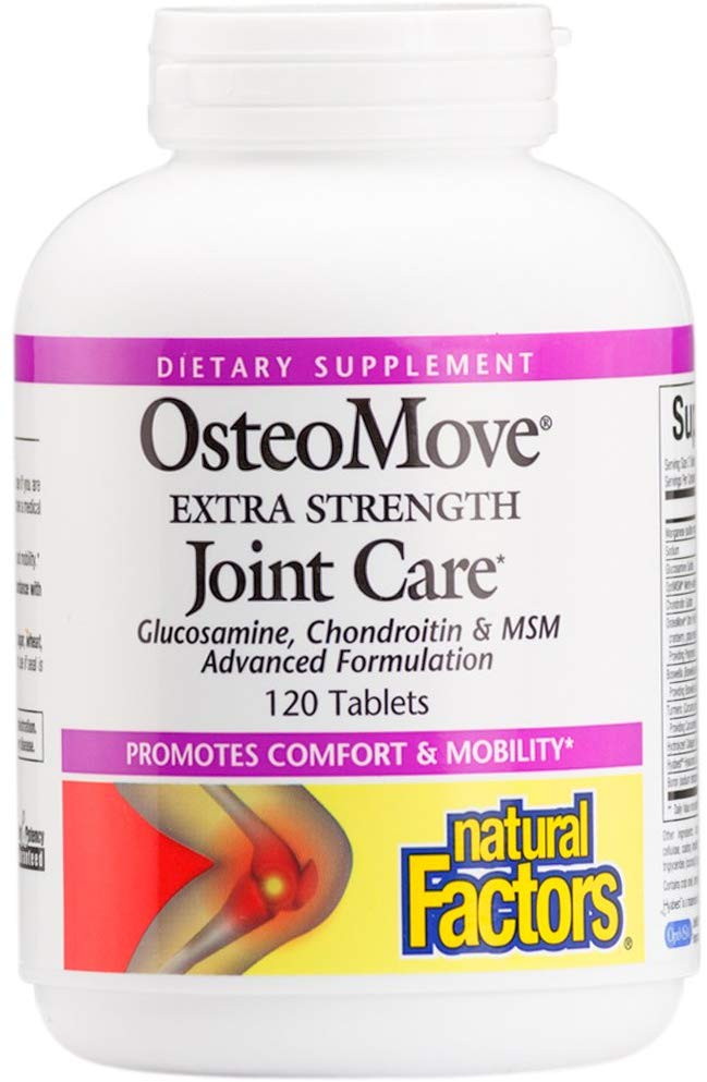 Natural Factors, OsteoMove Extra Strengt…