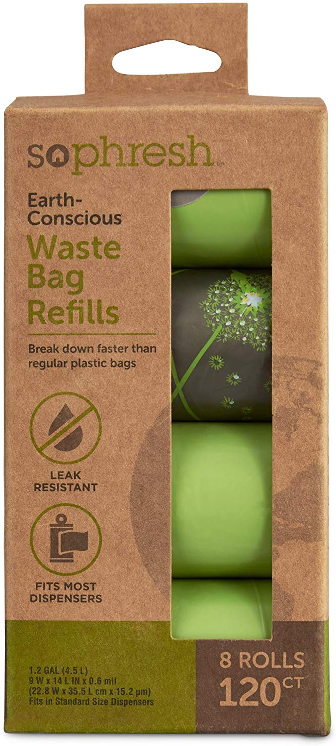 So Phresh Earth-Conscious Dog Waste Bag …