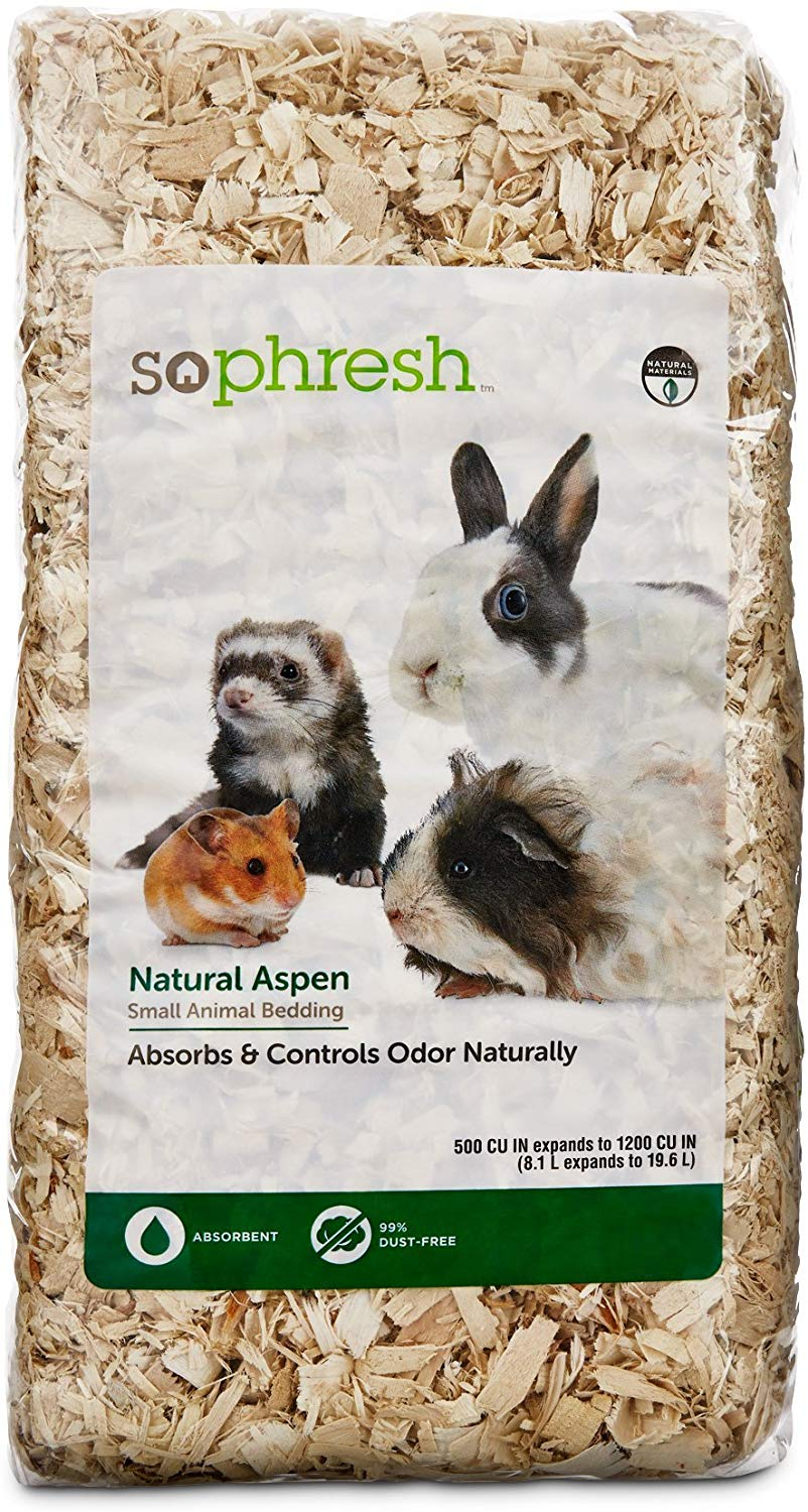 So Phresh Natural Aspen Small Animal Bed…
