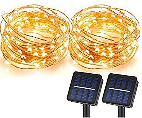 MagicPro Solar String Lights, 100 LEDs S…