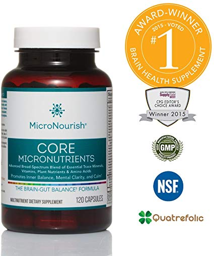 MicroNourish Core Micronutrients (120 Ca…