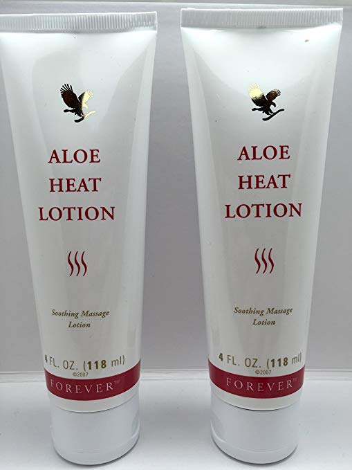 Living Aloe Heat Lotion 4oz. (…