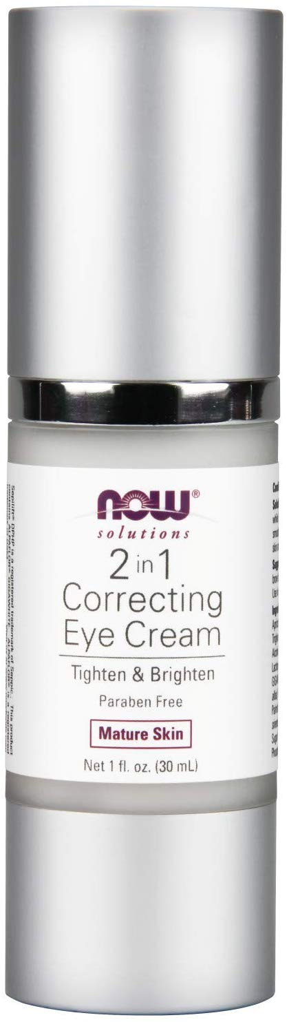 NOW Solutions, Eye Cream, 2 in 1 Correct…