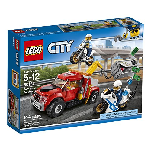 LEGO City Police Tow Truck Trouble 60137 Building …