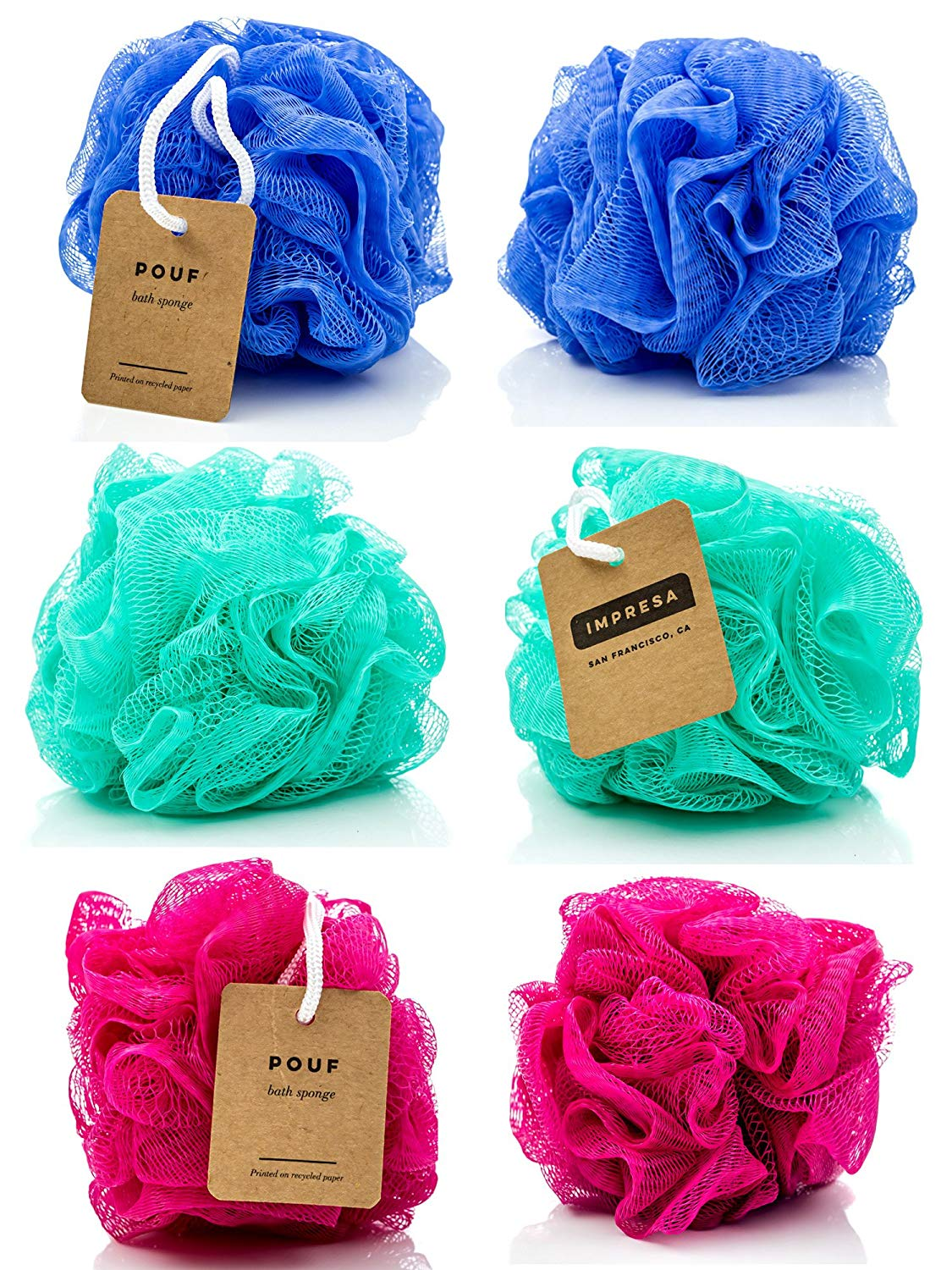 6-Pack Eco-friendly Loofah/Loo…