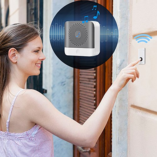 Actpe Wireless Doorbell Battery Operated…