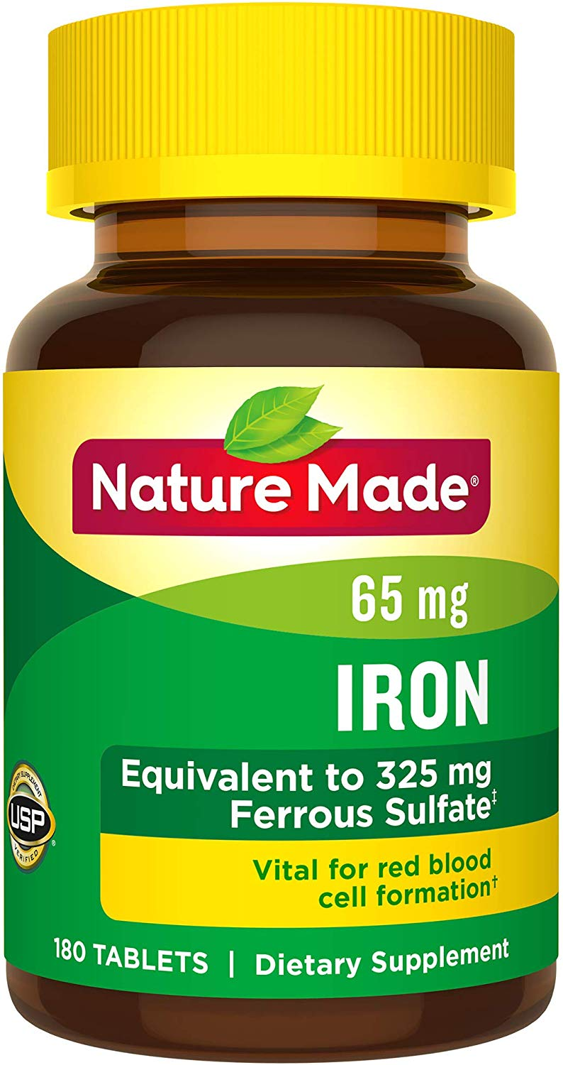 Nature Made Iron 65 mg (from F…