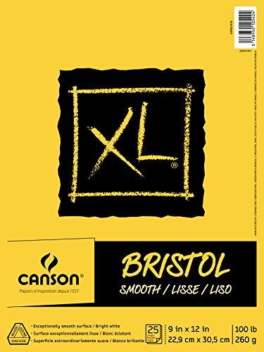 Canson XL Series Bristol Pad, 9