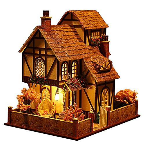 Rylai 3D Puzzles Miniature Dollhouse DIY…