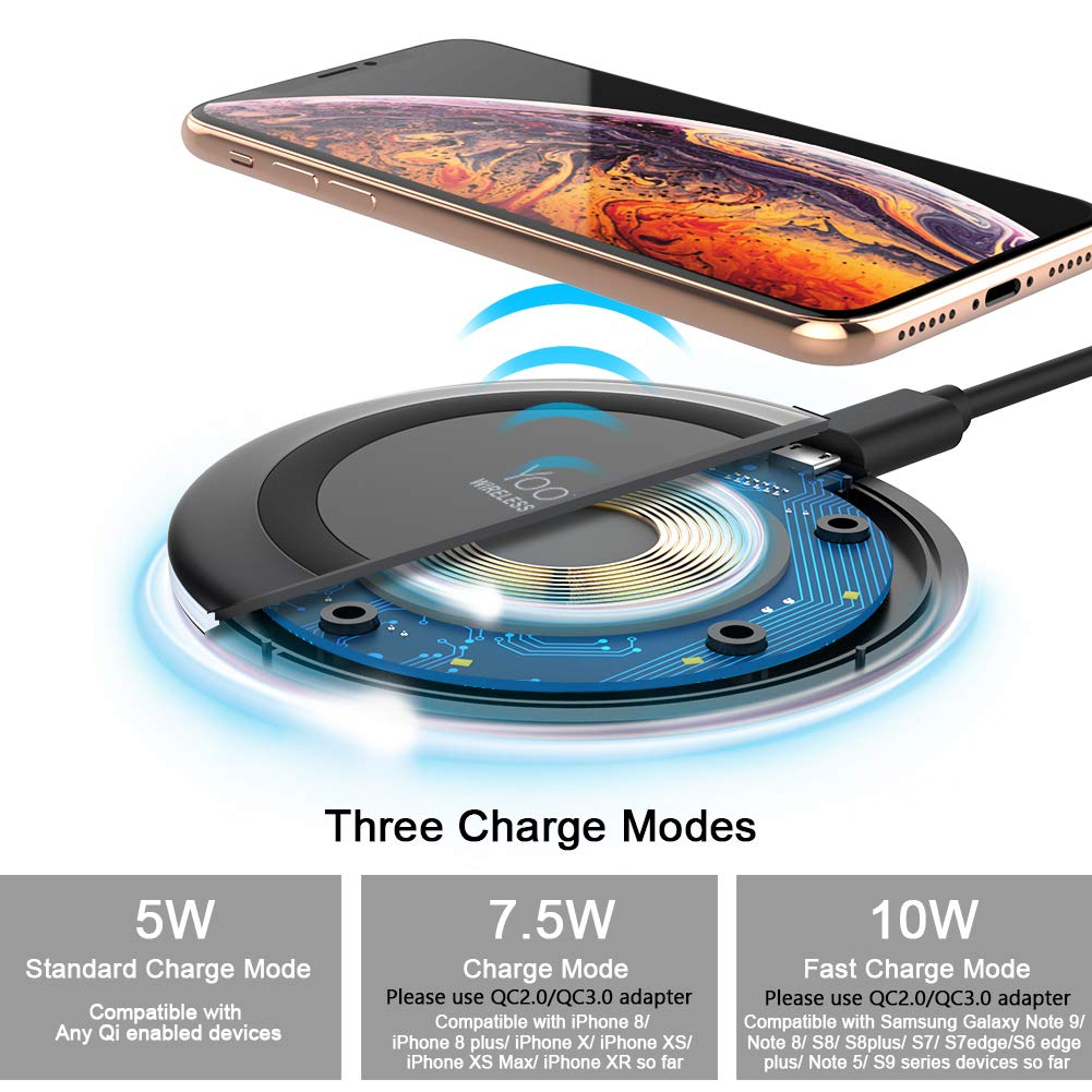 Yootech Wireless Charger Qi-Ce…