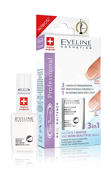 3 In 1 Instantly Whiter Nail W…