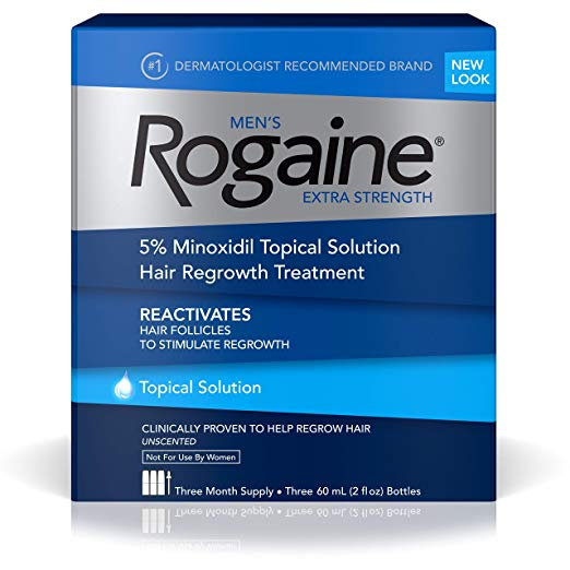 Rogaine Men s Extra Strength Solution, 2