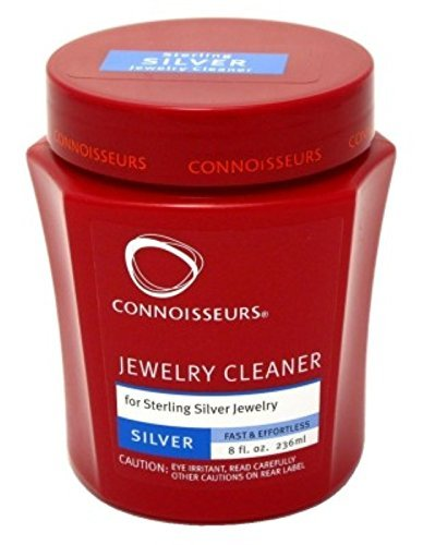 Connoisseurs Jewelry Cleaner Silver 8 Ounce (235ml…