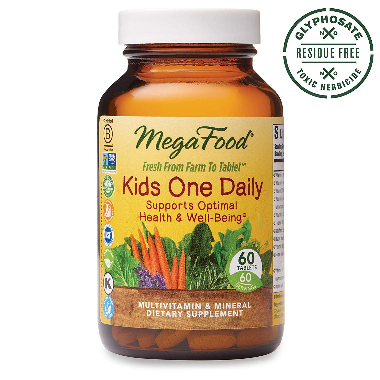 MegaFood, Kids One Daily, Dail…