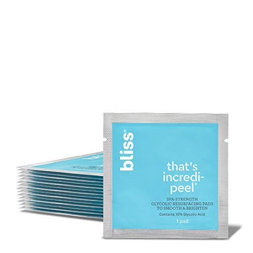 bliss That s Incredi-Peel Glycolic Resurfacing Pad…