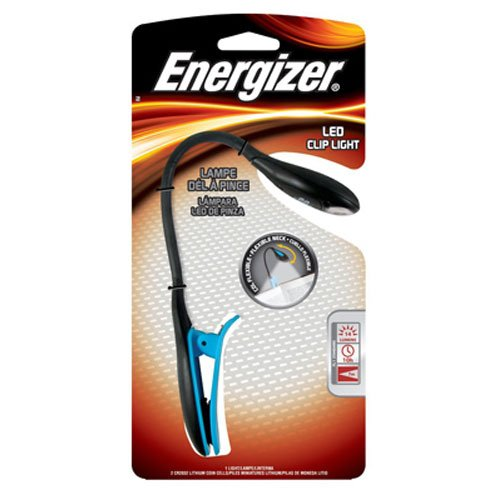 Energizer Clip on Book Light f…