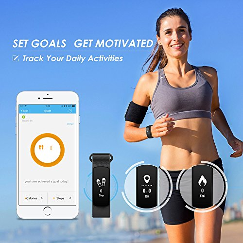 007plus T5 Plus Fitness Tracker Health S…