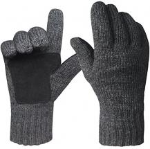 Oryer Men s Winter Gloves Warm Wool Knit…