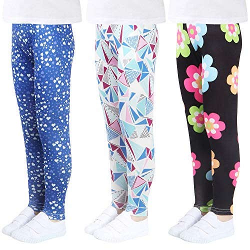 LUOUSE Girls Stretch Leggings …