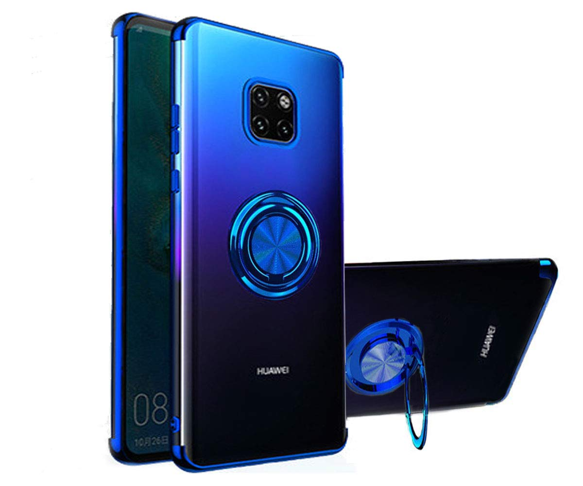 Huawei Mate 20 Pro Case 360° Ring Stand…