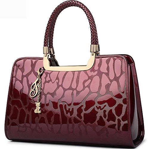 FOXER Women Handbag Leather Purse Top Handle …