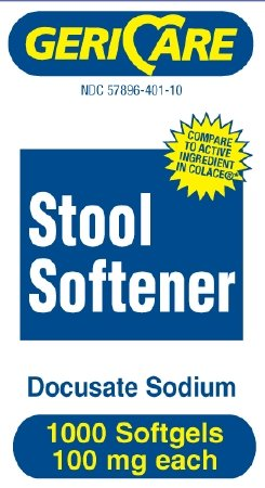 Geri-Care - Stool Softener Softgel - Cap