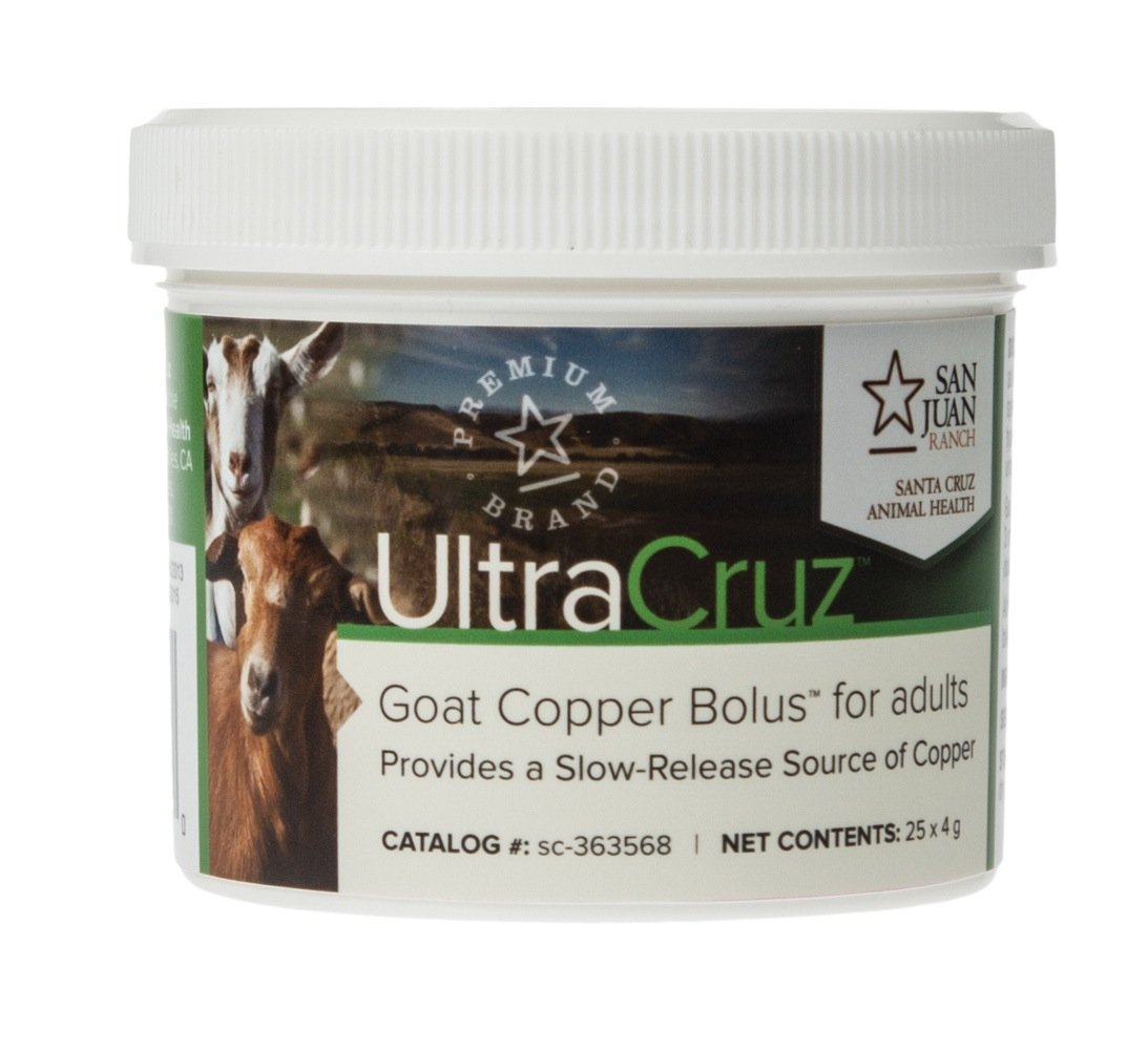 UltraCruz Goat Copper Bolus Supplement f…