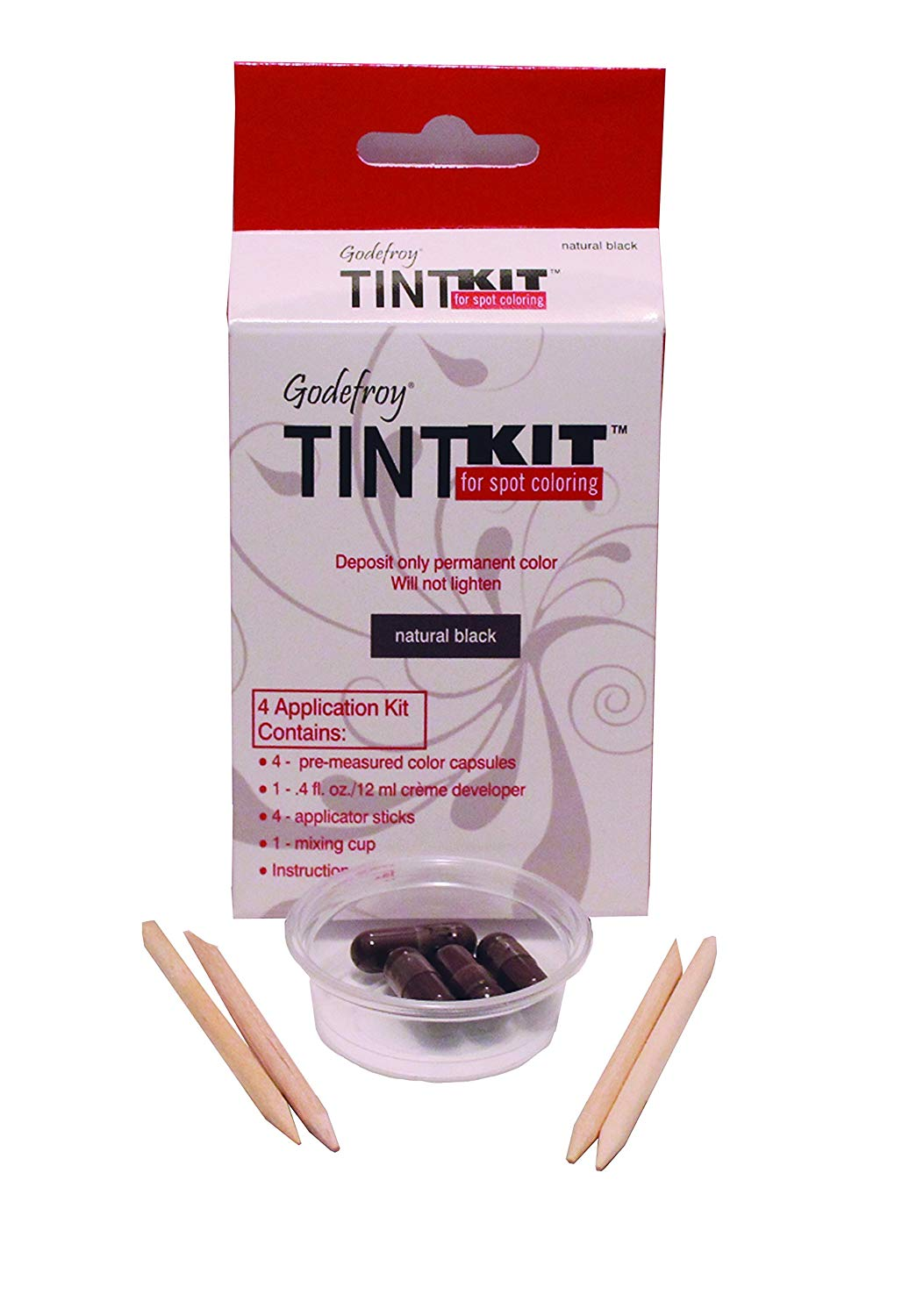 Godefroy 4 Applications Tint Kit - Natur…