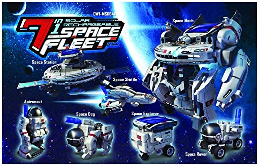 Rechargeable Solar Space Fleet Toy